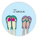Chatsworth Robin Maguire - Gift Stickers (Pair of Sandal) (DS-14-521)