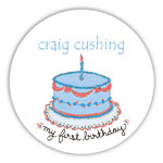 Chatsworth Robin Maguire - Gift Stickers (My First Birthday Boy) (DS-14-552)