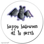 Sugar Cookie Gift Stickers - Batty
