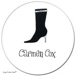 Sugar Cookie Gift Stickers - Boot