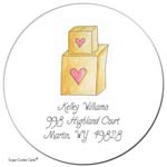 Sugar Cookie Gift Stickers - Boxes