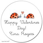 Sugar Cookie Gift Stickers - Bug Love