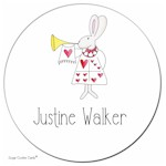 Sugar Cookie Gift Stickers - Bunny Call