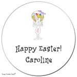 Sugar Cookie Gift Stickers - Easter Bunny