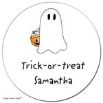 Sugar Cookie Gift Stickers - Ghost