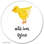 Sugar Cookie Gift Stickers - Little Chick