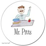 Sugar Cookie Gift Stickers - Mr. Pitts