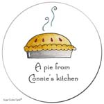 Sugar Cookie Gift Stickers - Pie