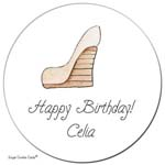 Sugar Cookie Gift Stickers - Well Heeled