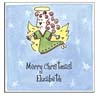 Sugar Cookie Holiday Calling Cards - CC-AN