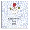 Sugar Cookie Holiday Calling Cards - CC-SM