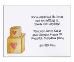 Sugar Cookie Moving Cards - MV-12