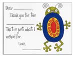 Sugar Cookie Fill-In Thank You Notes - TK-BG