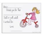 Sugar Cookie Fill-In Thank You Notes - TK-BG2