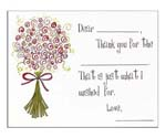 Sugar Cookie Fill-In Thank You Notes - TK-BQ
