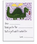 Sugar Cookie Fill-In Thank You Notes - TK-DI