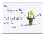 Sugar Cookie Fill-In Thank You Notes - TK-GM
