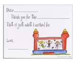 Sugar Cookie Fill-In Thank You Notes - TK-MW