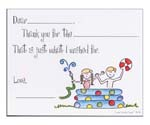 Sugar Cookie Fill-In Thank You Notes - TK-PL