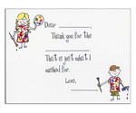 Sugar Cookie Fill-In Thank You Notes - TK-PT