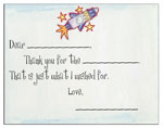 Sugar Cookie Fill-In Thank You Notes - TK-RK