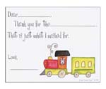Sugar Cookie Fill-In Thank You Notes - TK-TR2