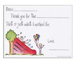 Sugar Cookie Fill-In Thank You Notes - TK-WS