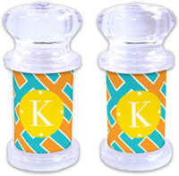 Dabney Lee Personalized Salt and Pepper Shakers - Acapulco