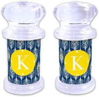 Dabney Lee Personalized Salt and Pepper Shakers - Argus