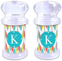 Dabney Lee Personalized Salt and Pepper Shakers - Arrowhead