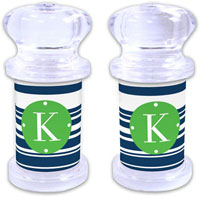 Dabney Lee Personalized Salt and Pepper Shakers - Block Island