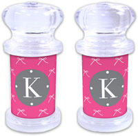 Dabney Lee Personalized Salt and Pepper Shakers - Chloe