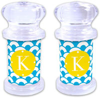 Dabney Lee Personalized Salt and Pepper Shakers - Coins
