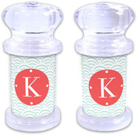 Dabney Lee Personalized Salt and Pepper Shakers - Ella