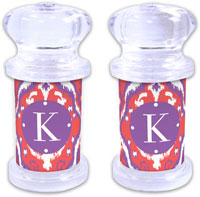 Dabney Lee Personalized Salt and Pepper Shakers - Elsie