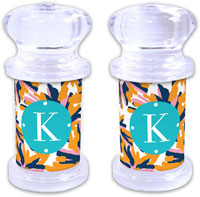 Dabney Lee Personalized Salt and Pepper Shakers - Fireworks