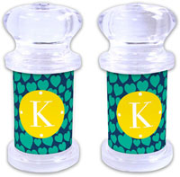 Dabney Lee Personalized Salt and Pepper Shakers - Love Struck