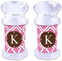 Dabney Lee Personalized Salt and Pepper Shakers - Lucy