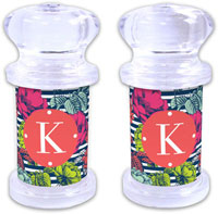 Dabney Lee Personalized Salt and Pepper Shakers - Millie