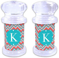 Dabney Lee Personalized Salt and Pepper Shakers - Mission Fabulous
