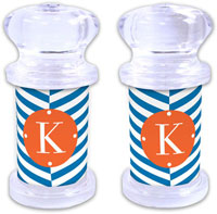 Dabney Lee Personalized Salt and Pepper Shakers - Perspective