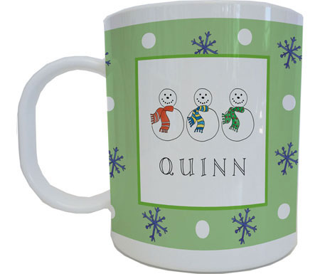 Kelly Hughes Designs - Mugs (Jolly Snowmen)