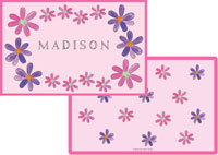 Kelly Hughes Designs - Laminated Placemats (Flower Power)