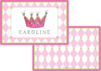 Kelly Hughes Designs - Laminated Placemats (Little Princess)