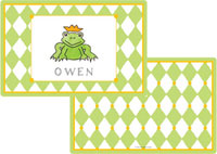 Kelly Hughes Designs - Laminated Placemats (Frog Prince)