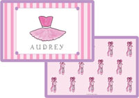 Kelly Hughes Designs - Laminated Placemats (Ballerina)