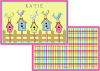 Kelly Hughes Designs - Laminated Placemats (For The Birds)