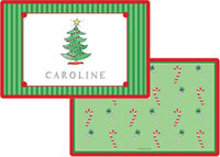 Kelly Hughes Designs - Laminated Placemats (Christmas Tree)