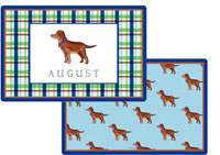 Kelly Hughes Designs - Laminated Placemats (Best Friend)