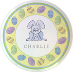 Kelly Hughes Designs - Melamine Plates (Happy Easter)